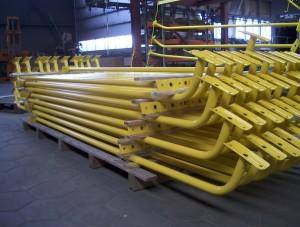 serieproductie grote metalen onderdelen